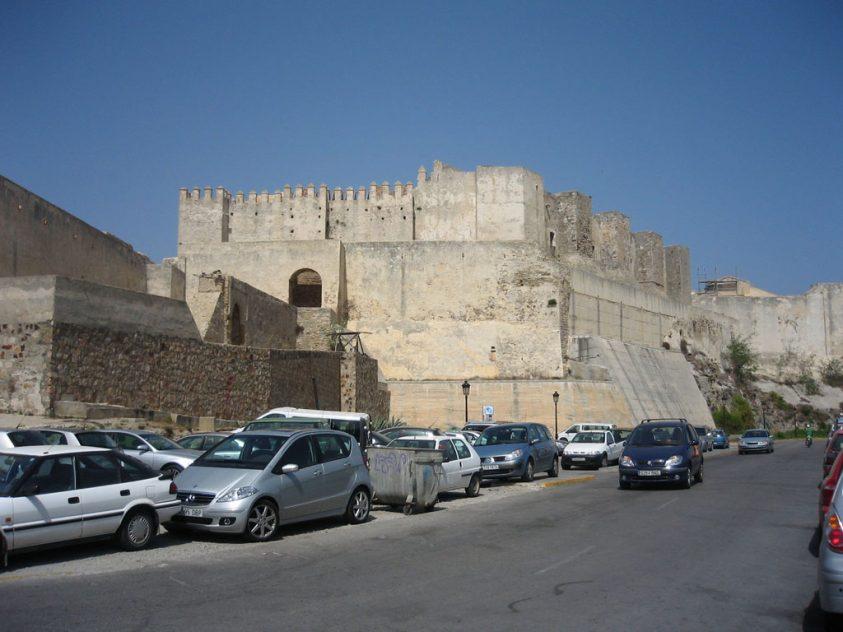 Parte exterior del Castillo de Guzmán el Bueno en Tarifa