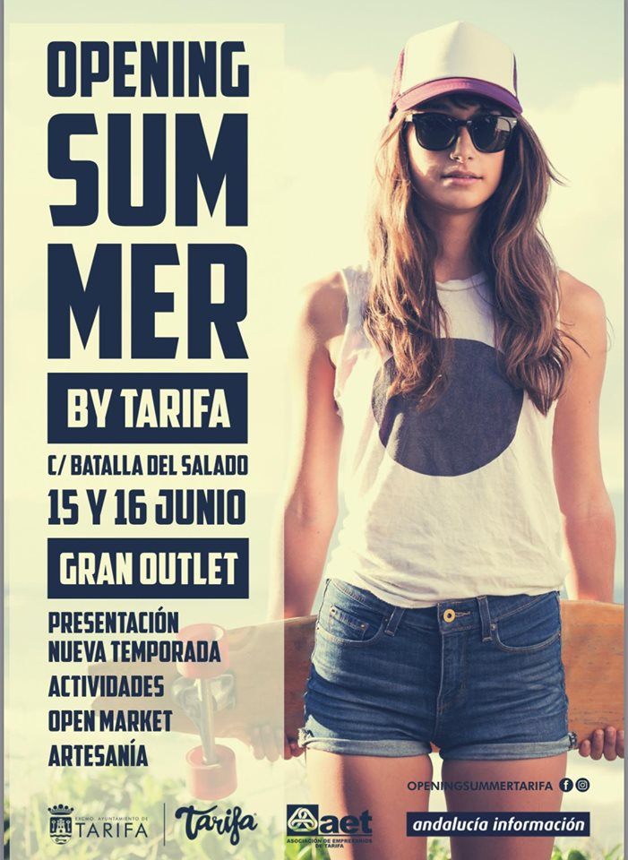 Cartel Opening Summer by Tarifa