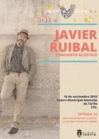 Cartel Javier Ruibal en Tarifa