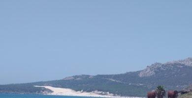 Vista del Parque Natural del Estrecho