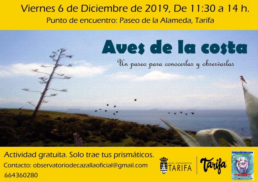 Cartel de la Ruta Ornitológica en Tarifa
