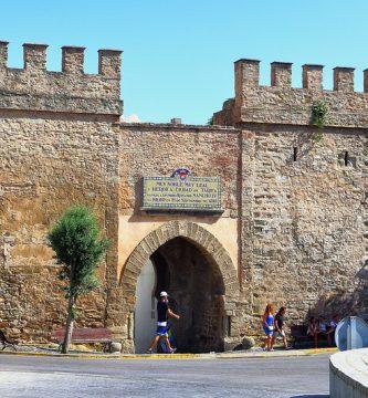 Fotografía de la Puerta de Jerez