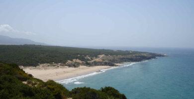 Playa del Cañuelo en Tarifa